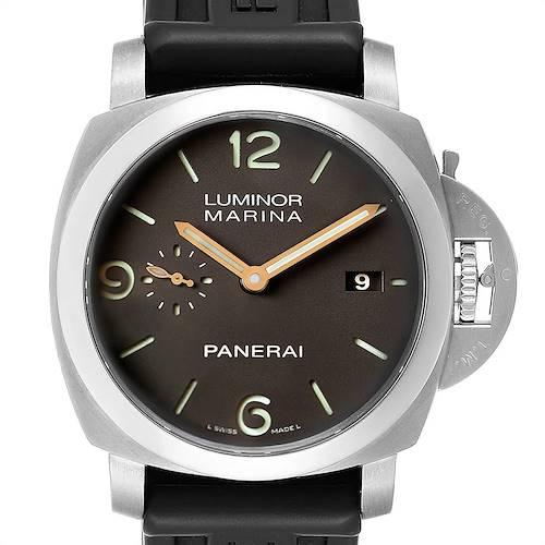Photo of Panerai Luminor Marina 1950 3 Days Titanium 44mm Watch PAM00351