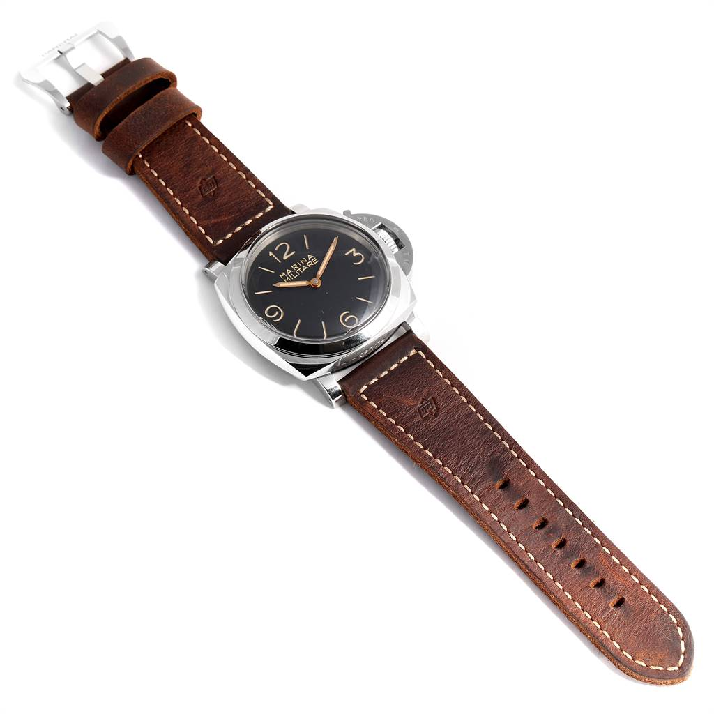 Panerai Luminor Marina 1950 Militare Acciaio Watch PAM00673 Box Papers SwissWatchExpo