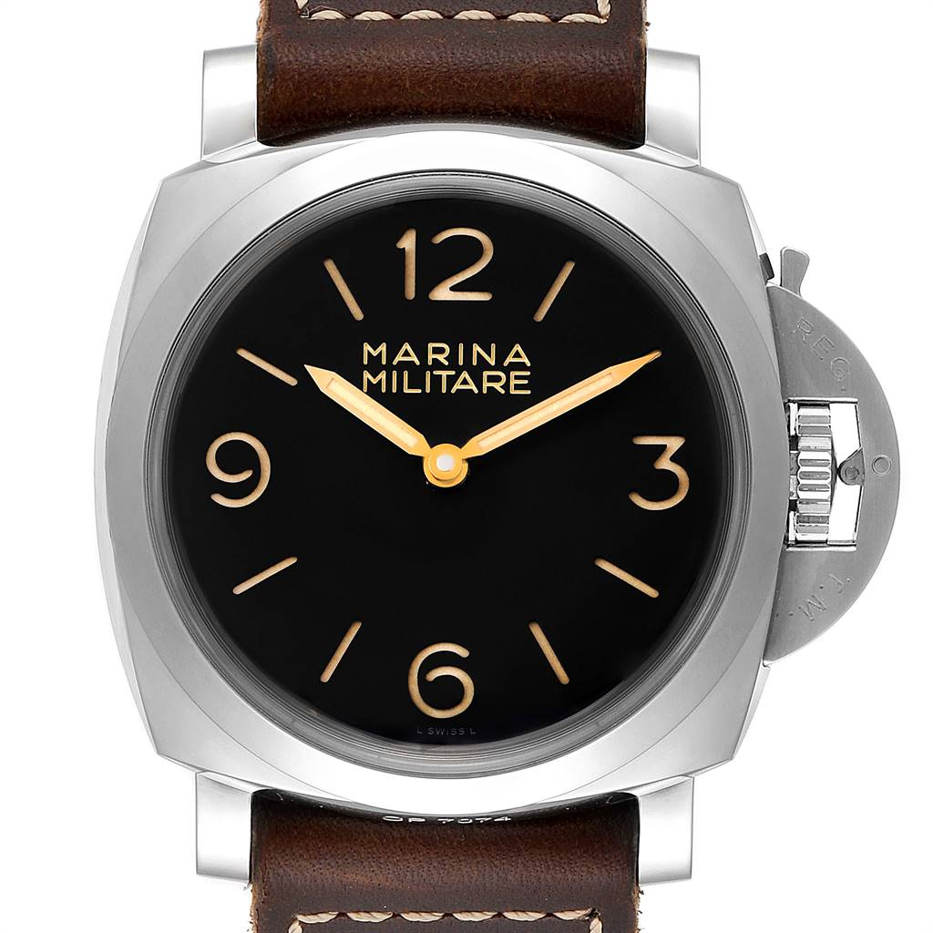 Panerai Luminor Marina 1950 Militare Acciaio Watch PAM00673 Box Papers