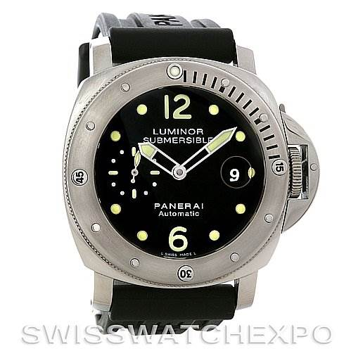f7be3acf1f2 ... 2844 Panerai Luminor Submersible PAM 024 OOR limited edition Watch  SwissWatchExpo ...
