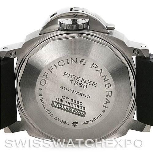 ... 4177 Panerai Luminor Marina Automatic 40mm Steel Watch PAM 049  SwissWatchExpo ... ef45739d7