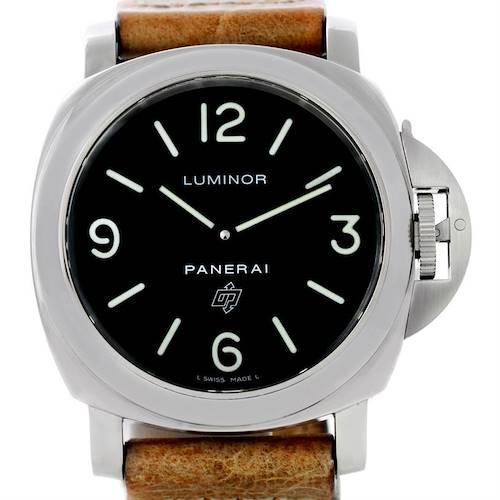 Photo of Panerai Luminor Base Logo 44mm Watch PAM000 PAM00000