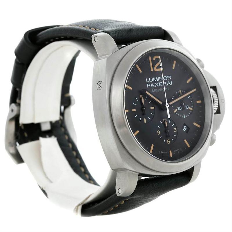 Panerai Luminor Contemporary Chronograph Watch PAM356 PAM00356 SwissWatchExpo