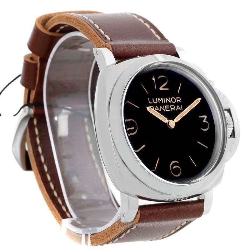 Panerai Luminor 1950 3 Days Acciaio 47mm Watch PAM00372 Unworn SwissWatchExpo