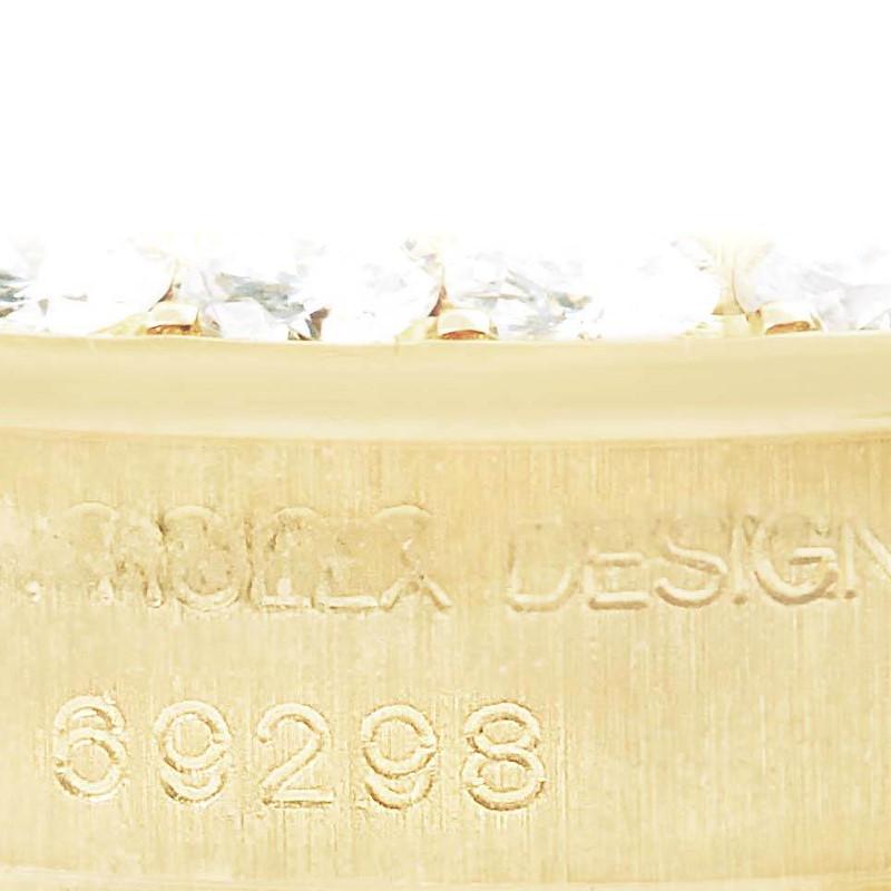 Rolex Pearlmaster Yellow Gold MOP Diamond Bezel Ladies Watch 69298 SwissWatchExpo
